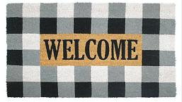 Buffalo Plaid Welcome